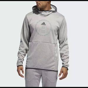 adidas Men's hoodie and Pants, Solid Grey